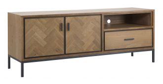 Televizní stolek MALE 153 CM masivní dřevo