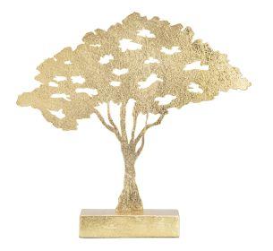 Skulptura GOLD TREE 42 CM