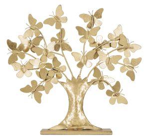 Dekorace BUTTERFLY TREE 30 CM