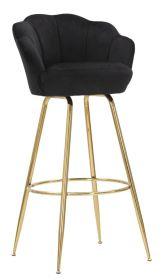 Barová židle ANNA 110 CM černá