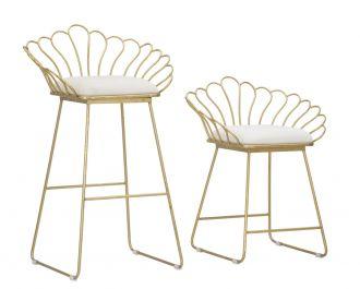 2SET židle ELEGANCE bílá