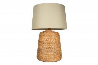Stolní lampa CORINN NATUR 82 CM béžová ratan