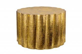 Konferenční stolek LIQUID LINE 60 CM zlatý