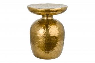 Odkládací stolek ORIENT 36 CM zlatý
