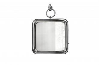 Zrcadlo PORTRAIT 28 CM stříbrné