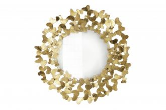 Zrcadlo BUTTERFLY 75 CM zlaté