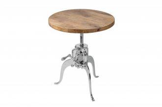 Konferenční stolek ENGINEER 45-62 CM masiv mango