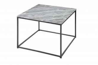 Konferenční stolek ELEMENTS NOBLES 50 CM šedý mramor
