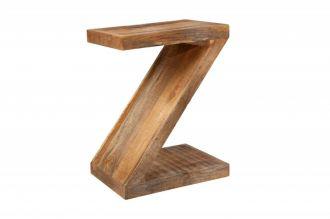 Odkládací stolek ZET 45 CM masiv mango