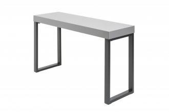 Konzolový stůl DESK 120x40 CM šedý