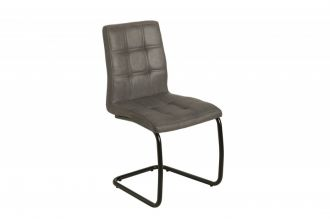 Jídelní židle MODENA vintage šedá mikrovlákno