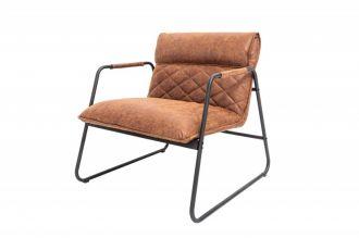 Židlo-křeslo MUSTANG antik světle hnědé