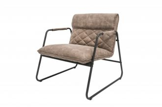 Židlo-křeslo MUSTANG antik taupe