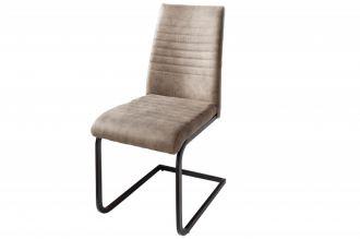 Jídelní židle LAZIO antik taupe mikrovlákno