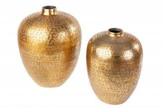 2SET váza ORIENTAL zlatá