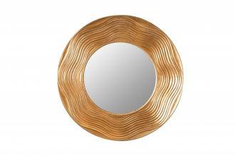 Zrcadlo CIRCLE 100 CM zlaté masiv pavlovnie