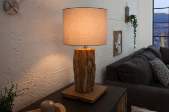 Stolní lampa ROOTS GREY