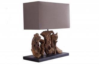 Stolní lampa ARAGON 50 CM naplavené dříví