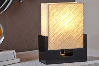 Stolní lampa TWILIGHT 25 CM béžová