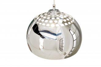 Stropní svítidlo BALL HOLE 35 CM chromované