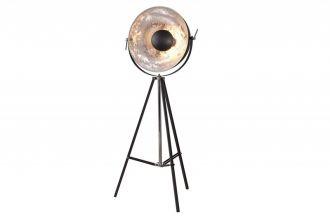 Stojací lampa BIG STUDIO 160 CM černo-stříbrná