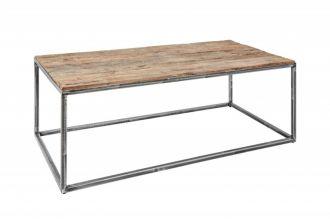 Konferenční stolek BARRACUDA 110 CM masiv recyklované dřevo