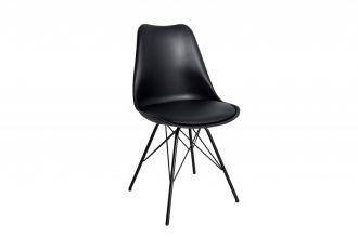 Jídelní židle SCANDINAVIA RETRO černá