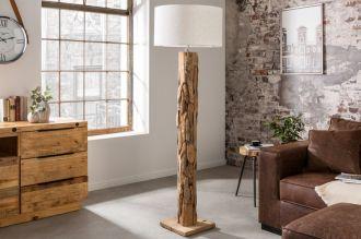 Stojací lampa ROOTS 160-175 CM naplavené dříví