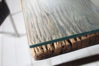 Skleněná deska pro jídelní stoly 200 CM