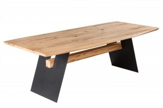Jídelní stůl GRAND OAK NATUR 240 CM masiv divoký dub
