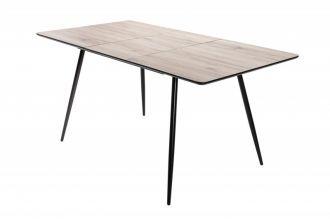 Rozkládací jídelní stůl APARTMENT II 120-160 CM dubový vzhled