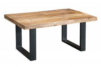 Konferenční stolek IRON CRAFT 100 CM masiv mango
