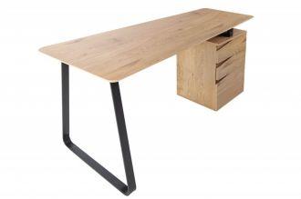 Pracovní stůl STUDIO 160 CM dubový vzhled