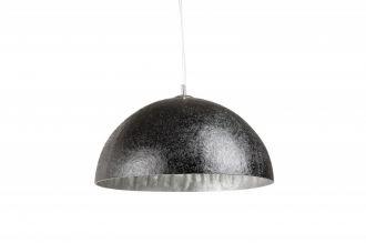 Stropní svítidlo GLOW 50 CM černo-stříbrné