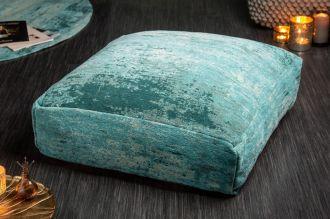 Podlahový polštář MODER ART 70 CM tyrkysový