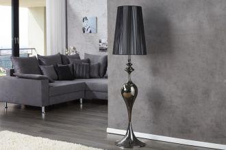Stojací lampa LUCIE 160 CM černá
