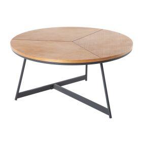 Konferenční stolek ELEGANCE 80 CM dubový vzhled