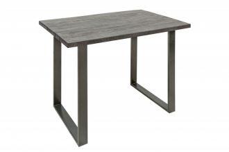 Barový stůl IRON CRAFT 120 CM GREY masiv mango