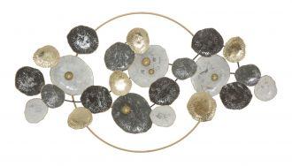 Nástěnná dekorace GOLDEN CIRCLE 92 CM
