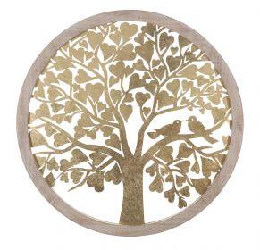 Nástěnná dekorace HEART TREE 80 CM
