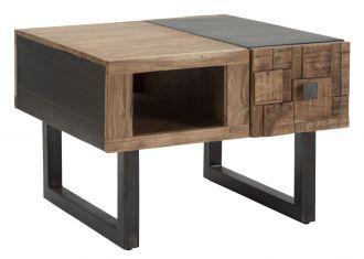 Konferenční stolek DEOLA 60 CM masiv akácie
