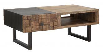 Konferenční stolek DEOLA 110 CM masiv akácie