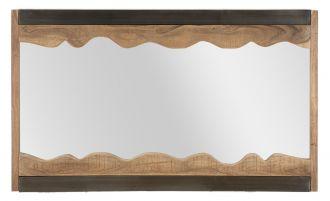 Zrcadlo YOSEMITE 100 CM masiv akácie