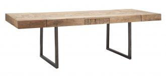 Jídelní stůl rozkládací DEOLA 160-240 CM masiv akácie