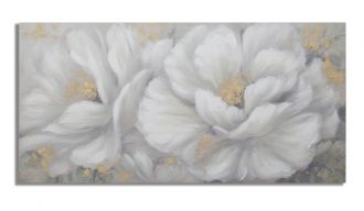 Plátěný obraz WHITE GARDEN 140 CM