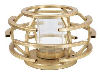 Svícen GOLDEN CAGE 18 CM