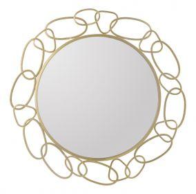 Zrcadlo GOLDEN NECKLACE 84 CM