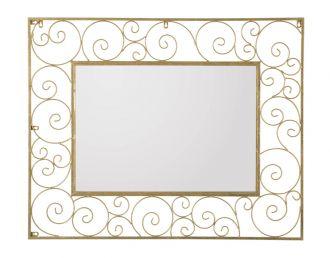 Zrcadlo GOLDEN SHELLS 100 CM