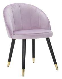 Židle SATY růžová