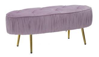 Pokojová lavice COMFORT 102 CM růžová